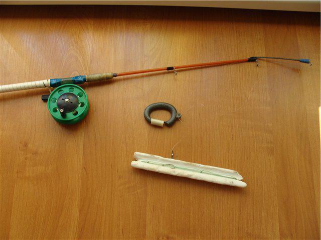 Конструкции и оснастка бортовых удочек для ловли леща