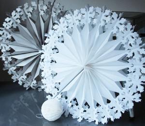Как сделать снежинку объемную своими руками из бумаги