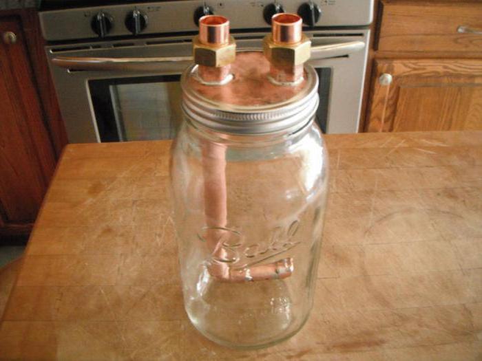 Как сделать самогонный аппарат из банок