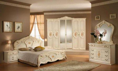 Белая спальная мебель фото