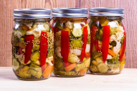 Консервирование овощных салатов на зиму в домашних условиях с фотографиями