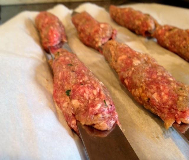 Рецепт люля-кебаб куриного в домашних условиях 800