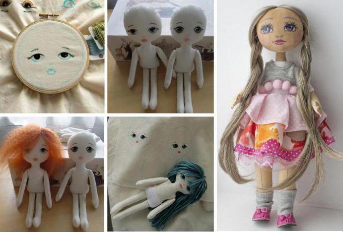 Как сшить руки текстильной кукле 890