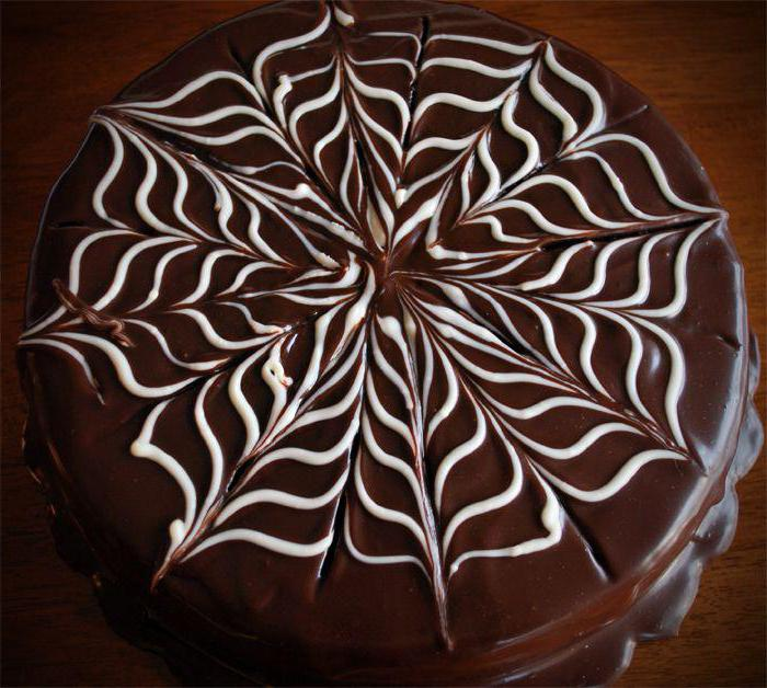 торт с белым шоколадом видео