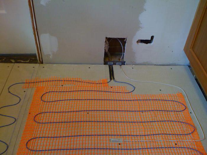 Как сделать теплые полы электрические в частном доме
