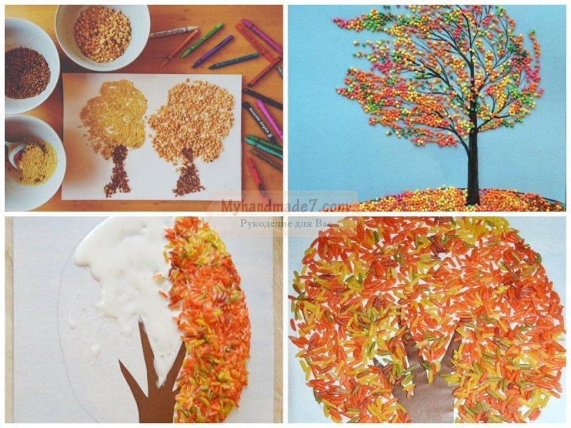Краски осени поделки в детский сад 71
