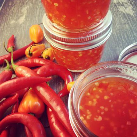 Как приготовить соус чили в домашних условиях
