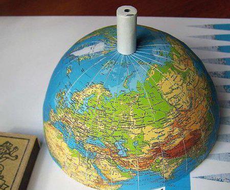 Глобус своими руками распечатать