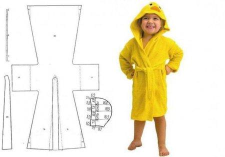 Сшить халатик для малыша 23