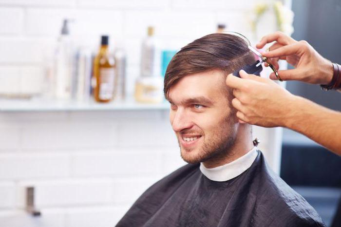 Салон парикмахерская мужская стрижка