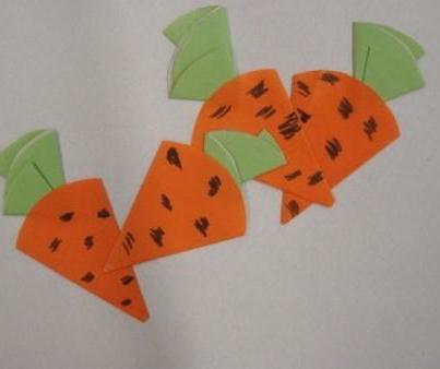 Поделка из бумаги на тему овощи и фрукты 422