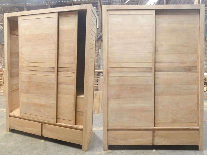 Шкафы-купе из дерева своими руками