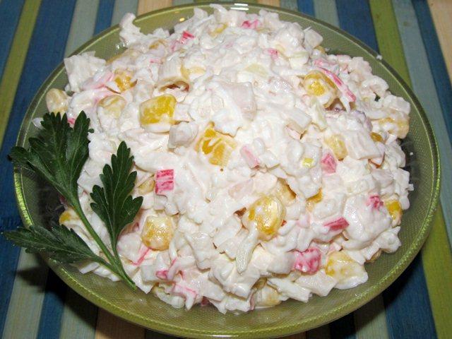 Какой простой салат можно приготовить простой рецепт