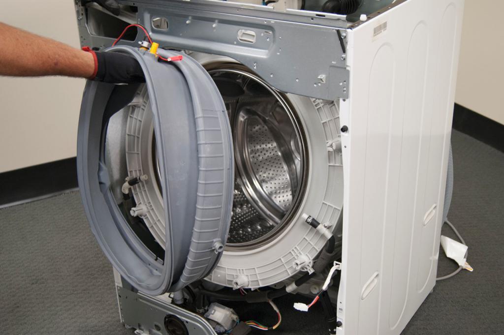 Ремонт стиральной машины своими руками lg замена подшипника 95
