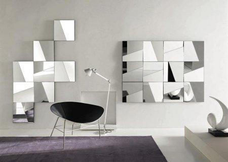 Дзеркальне полотно: види, особливості та застосування в дизайні приміщення